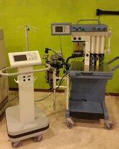 Narkomed MRI 2 con monitor para paciente Invivo 3150 MRI