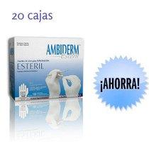 Guante Latex Estéril Ambiderm 20 Cajas