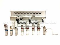 Stryker System 5 Set With 4208, 4206, 4203 Handpieces With Attachments