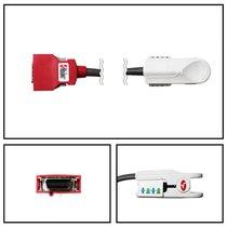 Masimo DCIP-DC12 DCSC 20 Pin Red Finger Direct Connect Pediatric SpO2 Sensor - 2257