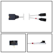 Masimo 2258 SpO2 Multi-Site Y Sensor LNCS YI 9 Pin 3' Cable New Yr Warranty - 2258