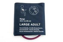 NiBP Large Adult Blood Pressure Cuff Bladderless Single Tube Hose 35.5-46cm New - NBXX3112