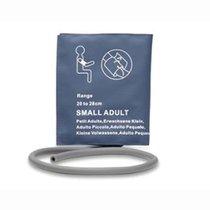 NiBP Small Adult Blood Pressure Cuff Bladder Single Hose Tube 20-28cm Warranty - NBXX3215