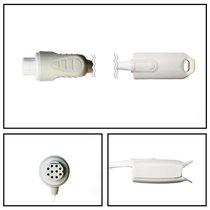 GE Datex-Ohmeda 10 Pin SpO2 Hard Shell Finger Sensor (10 ft) - NHDX3010