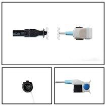 GE Datex-Ohmeda SpO2 Pediatric Hard Finger Sensor Hypertonic 10' Cable Warranty - NHDX3735