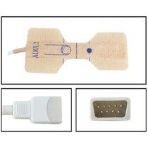 GE Datex-Ohmeda SpO2 Adult Disposable Textile Adhesive Finger Sensor 24 Pack - NHDX5025-TA