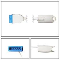 GE Marquette SpO2 Finger Sensor Direct Connect 10' Cable OxiMax New Yr Warranty - NHMQ3046