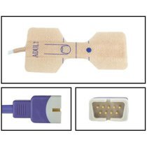 Nellcor SpO2 Adult Disposable Sensors OxiMax DB9 Connectors 24 Pack New Warranty - NHNE5026-TA