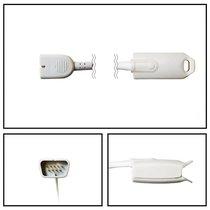 Nihon Kohden SpO2 Adult Hard Shell Finger Sensor DB9 9 Pin 5' Cable New Warranty - NHNK2025