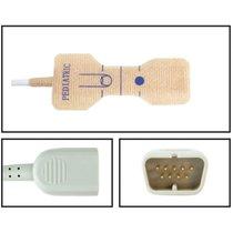 Nihon Kohden SpO2 Pediatric Disposable Textile Adhesive Finger Sensor 24 Pack - NHNK5725-TA