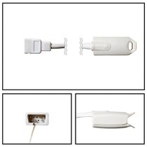 Spacelabs Novametrix SpO2 Adult Hard Shell Finger Sensor DB9 3' Cable Warranty - NHSN1025