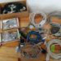 LOTE de cables y sensores en REMATE