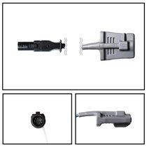 GE Datex-Ohmeda Hypertronics Adult Soft Shell SpO2 Sensor 3' Cable Yr Warranty - NSDX1035