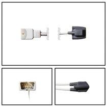 Nellcor OXI-P/I SpO2 Infant Soft Shell Finger Sensor DB9 7 Pin 3' Cable Warranty - NSNE1825