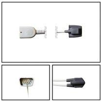 Nihon Kohden SpO2 Infant Soft Shell Finger Sensor DB9 9 Pin 5' Cable Yr Warranty - NSNK2825