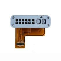 GE Apex Pro CH Telemetry Transmitter ECG Plug Block & Flex Assembly New Warranty - NTGE9222