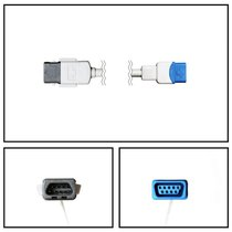 GE Datex-Ohmeda TS-M3 SpO2 8' Extension Adapter Cable TruSat MC to TruSignal New - NXDX5080