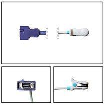 Nellcor OxiMax 3M Ear Clip SpO2 Sensor (10 ft) - NYNE3103-OM