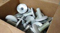 Mangos de aluminio para mover las lamparas de quirofano (40)