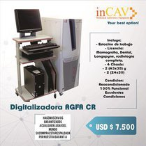 Digitalizadora AGFA CR 35-X