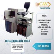 Digitalizadora Agfa Cr 85 - X