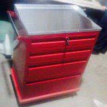 Carro Rojo Mobiliario Medico