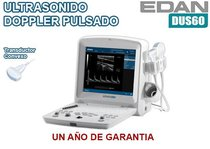 Ultrasonido EDAN DUS 60 Doppler pulsado