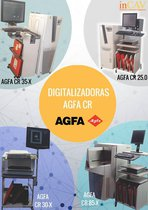 Digitalizadoras Agfa Cr 25.0, 30-X, 35-X, 85-X