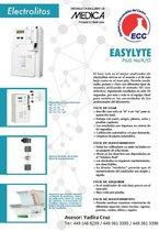 Easy Lite Electrolitos marca MEDICA autorizado por la FDA