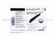 Ethicon Echelon ECR60T 60 Reloads: 4.2MM, 6 Row Black - Box of 12