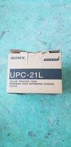 Caja De Papel Para Impresión, Sony, Upc21L