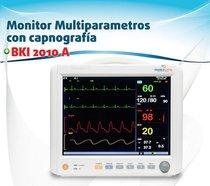 Monitor Multiparametros con capnografía