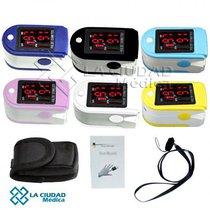 Oximetro De Pulso 50DL + Goma Protectora Y Pilas