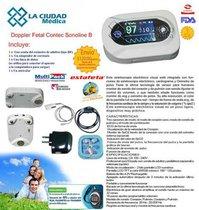 Estetoscopio Digital Electrocardiograma Oximetro Alarmas