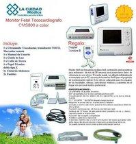 Monitor Fetal Tococardiografo Contec Color Nuevo Facturado