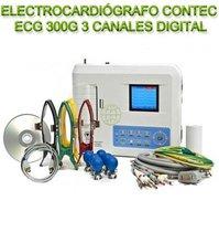 Electrocardiógrafo Contec Ecg 300G 3 Canales Digital