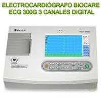 Electrocardiógrafo Biocare Ecg 300G 3 Canales Digital