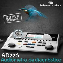 Audiometro Hìbrido Mod. AD226 Marca Interacoustics