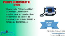 Desfibrilador Philips Heartstart XL