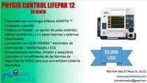Desfibrilador Physio Control LifePak 12
