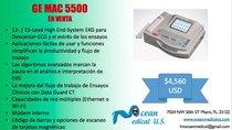 Electrocardiografo GE MAC 5500
