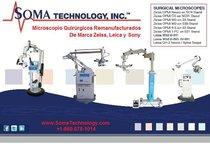 Microscopios Quirúrgicos Remanufacturados - Zeiss / Leica / Sony