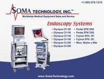 Olympus / Pentax - Sistemas Completos de Video Endoscopia Remanufacturados