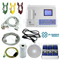 Electrocardiografo Ecg 300g 3/6 Canales Y Usb