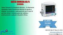 Monitor de paciente Datex Ohmeda AS/5