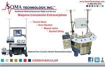 Terumo Sarns / Sorin Stocket / Maquet Jostra -Maquina Circulación Extracorpórea Remanufacturados