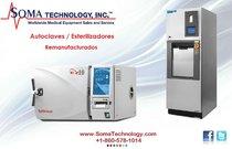 Steris Amsco 3013 / Tuttnauer 2540 - Autoclaves y Esterilizadores Remanufacturados