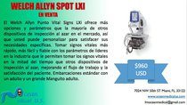 Monitor Welch Allyn Spot LXI