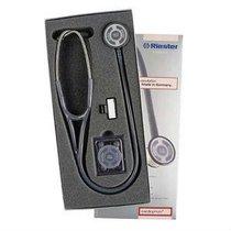 IG-4131-01 Estetoscopio CARDIPHON Color Negro. MCA. RIESTER.