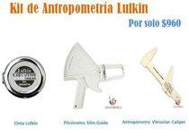 Kit de antropometria: plicometro, antropometro y cinta lufkin